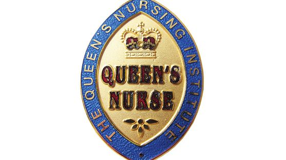 Queens Nurse Badge